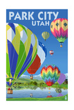 Park City  Utah - Hot Air Balloons