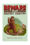 Bigfoot Country - No Dogs Off Leash