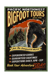 Bigfoot Tours - Vintage Sign
