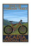 Acadia National Park  Maine - Ride the Carriage Trails