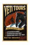 Yeti Tours - Vintage Sign