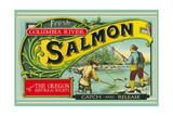 Oregon - Columbia River - the Oregon Historical Society Salmon Label
