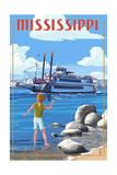 Mississippi - River Boat