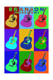 Branson  Missouri - Acoustic Guitar Pop Art