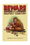 Bigfoot Country - Don't Leave Food in Tent