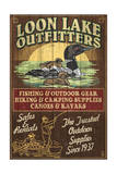 Loon Outfitters - Vintage Sign