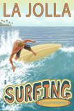 La Jolla  California - Surfer