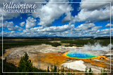 Yellowstone National Park - Grand Prismatic Pool