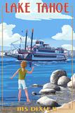 Lake Tahoe - MS Dixie II Paddleboat