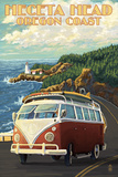 Heceta Head Lighthouse and VW Van