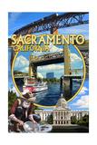 Sacramento  California - Montage