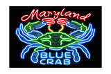 Maryland - Blue Crab Neon Sign