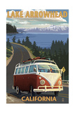 Lake Arrowhead - California - VW Van Coastal