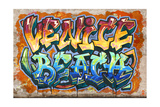 Venice Beach  California - Graffiti