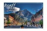 Banff  Canada - Downtown