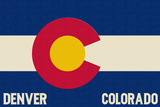 Denver  Colorado - Colorado State Flag
