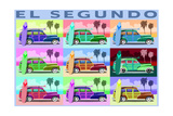 El Segundo  California - Woody Pop Art