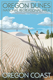 Oregon Dunes National Recreational Area - Day Scene