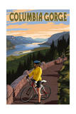 Columbia River Gorge - Bicycle Scene