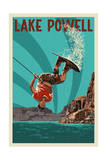 Lake Powell - Wakeboarder