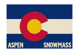 Aspen - Snowmass  Colorado State Flag