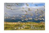 Oregon Coast - Seagulls