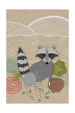 Spring Time Raccoon