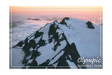 Olympic National Park - Mount Olympus at Sunrise