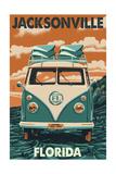 Jacksonville  Florida - VW Van