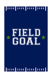 Monogram - Game Day - Blue and Green - Field Goal