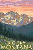 Big Sky  Montana - Spring Flowers