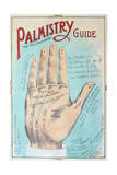 A Picture of Good Health - Vintage Palmistry Chart Lithograph