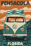 Pensacola  Florida - VW Van