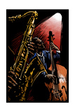 Jazz Band - Scratchboard