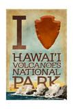 I Heart Hawaii Volcanoes National Park