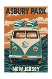 Asbury Park  New Jersey - VW Van