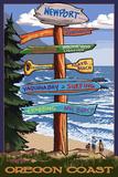 Newport  Oregon - Sign Destinations 2