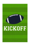 Monogram - Game Day - Blue and Green - Kickoff
