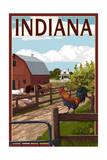 Indiana - Barnyard Scene