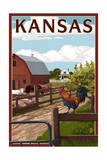 Kansas - Barnyard Scene