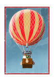Hot Air Balloon Tours - Vintage Sign