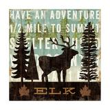 Simple Living Elk Giclée premium par Michael Mullan