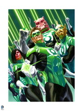 DC Green Lantern Comics: Alex Ross Art