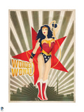 DC Wonder Woman Comics: New Constructivism