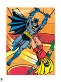 DC Batman Comics: Vintage Coloring Book