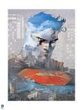 DC Superman Comics: City Silhouettes
