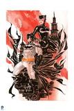DC Batman Comics: Watercolor Design