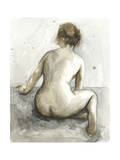 Figure in Watercolor I