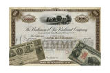 Antique Stock Certificate III