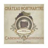 Vintage Wine Labels III Reproduction d'art par Erica J. Vess